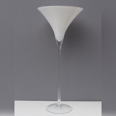 Martiniglas weiss