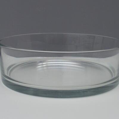 Glasschale rund